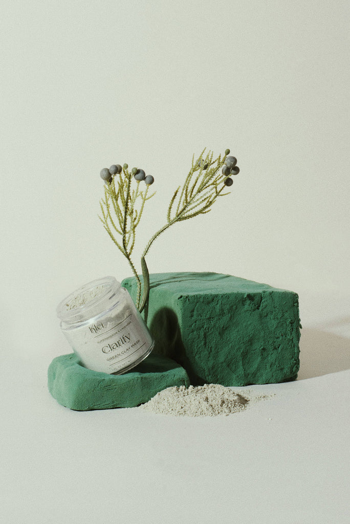 Klei - SuperGreens & Lavender Clarify Green Clay Mask - KINDRED-the boheme collective
