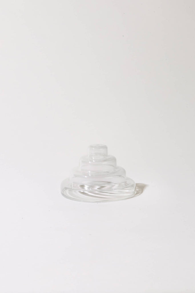 YIELD - Glass Meso Incense Holder - Clear