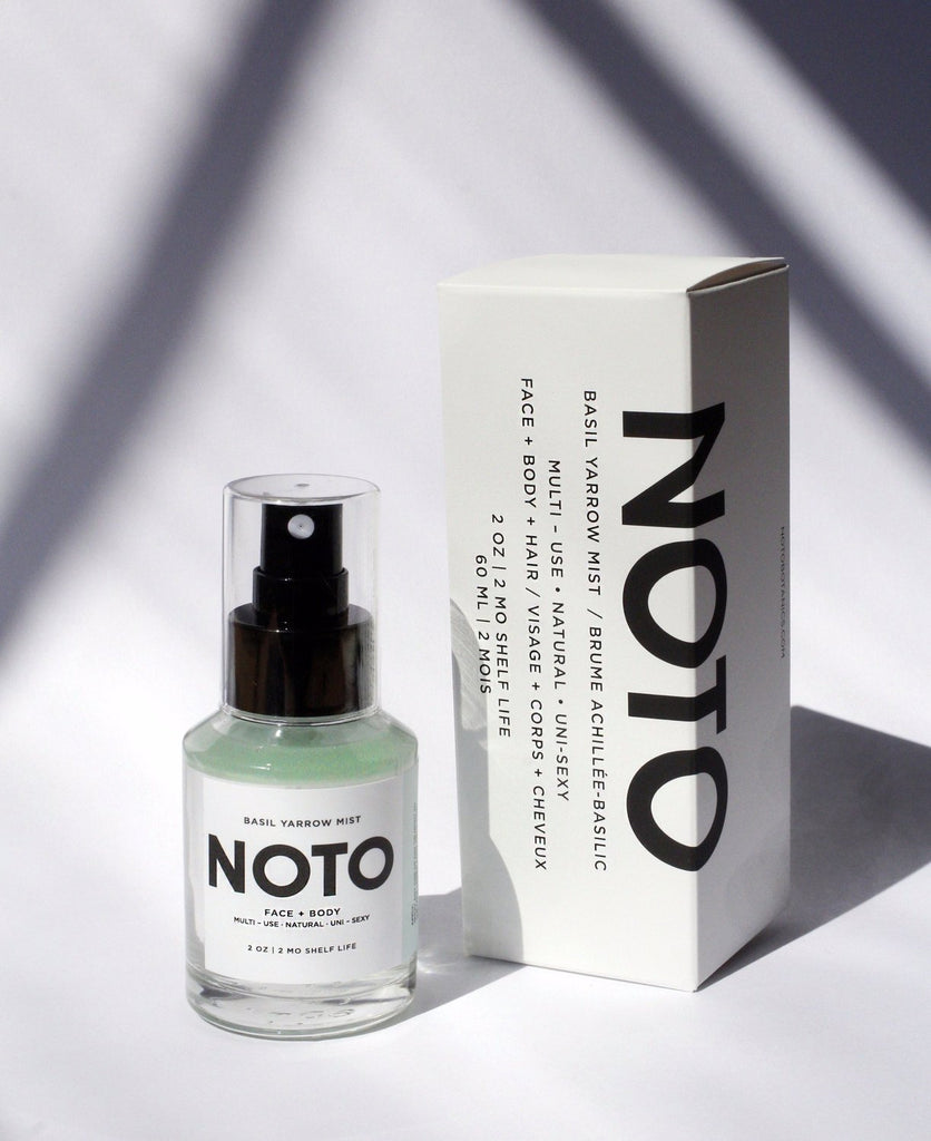NOTO botanics - Basil Yarrow Mist 2 oz. - KINDRED-the boheme collective
