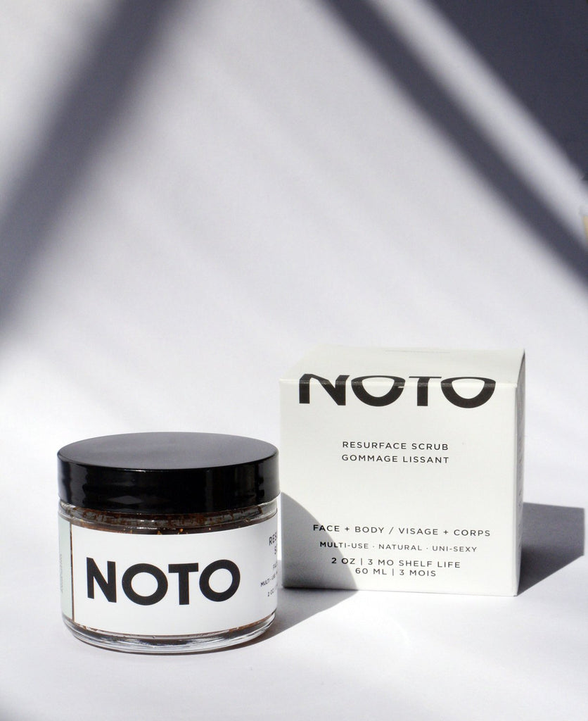 NOTO botanics - Resurface Scrub 2 oz. - KINDRED-the boheme collective