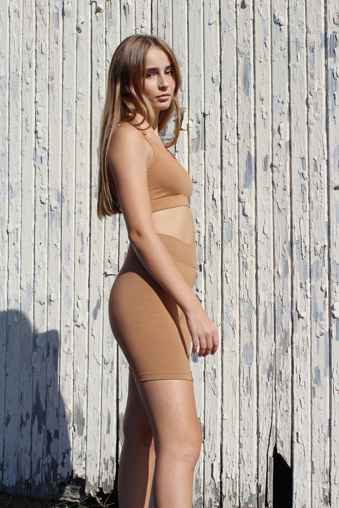 Bare Boutique - Reka Shorts - Brown Sugar