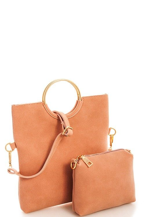 Foldable Crossbody Clutch