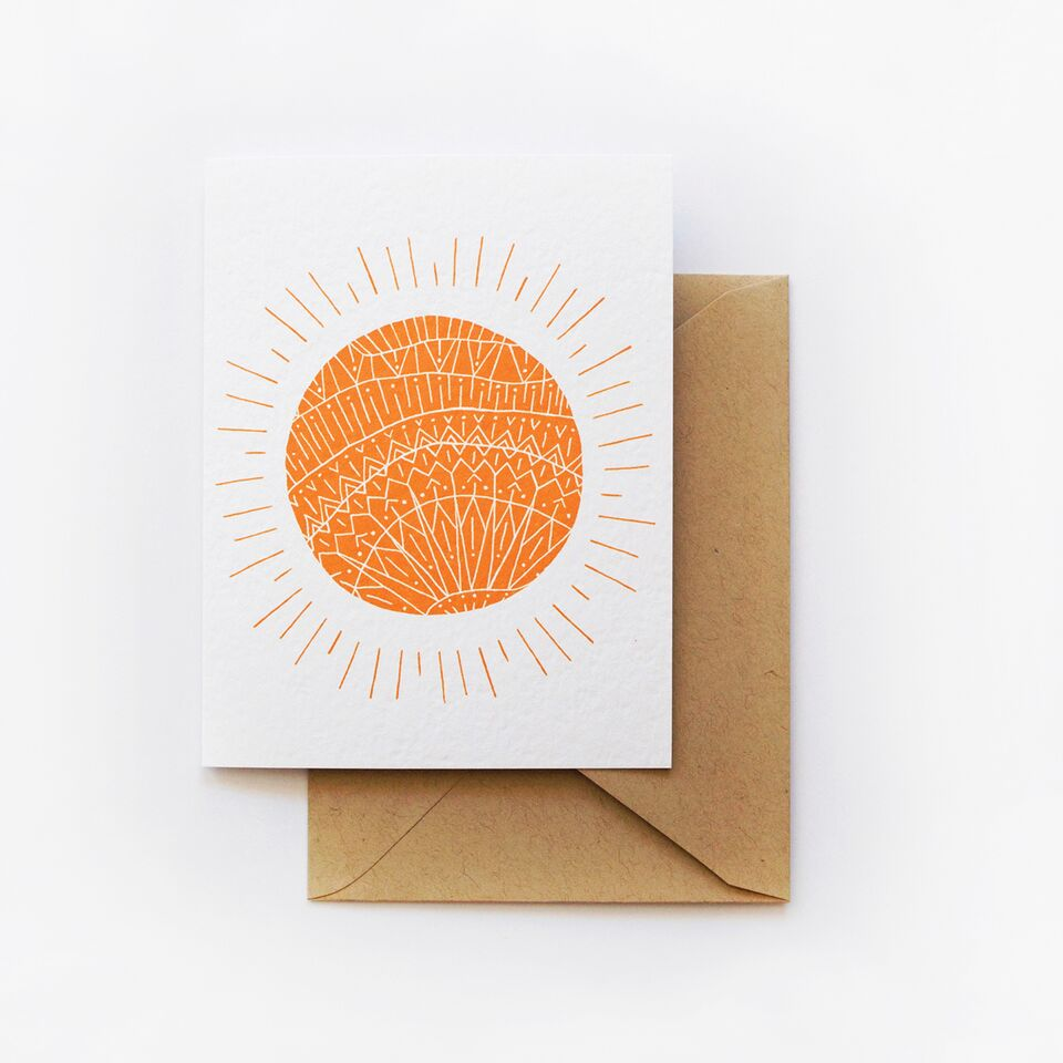 Onward Wander Studio - Sending Some Sunshine Card - KINDRED-the boheme collective