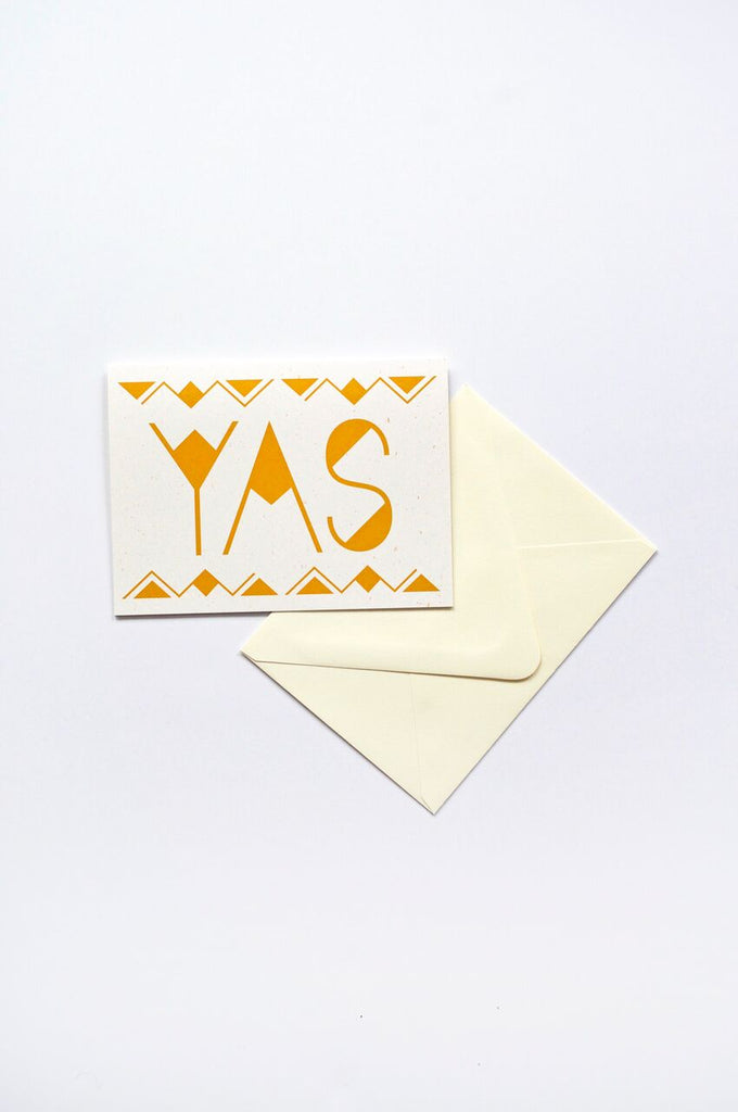 Onward Wander Studio - Yas Shimmer Card - KINDRED-the boheme collective
