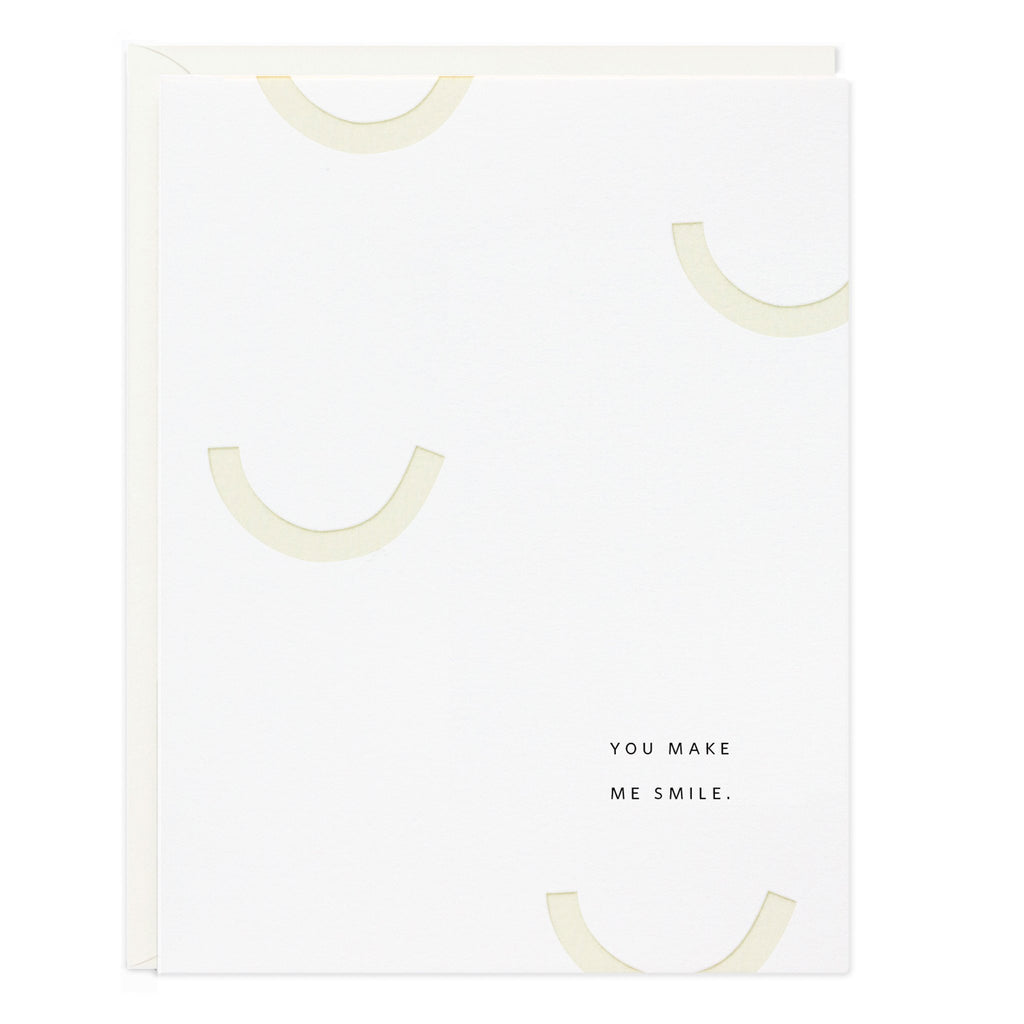 Ramona & Ruth - You Make Me Smile Greeting Card - KINDRED-the boheme collective