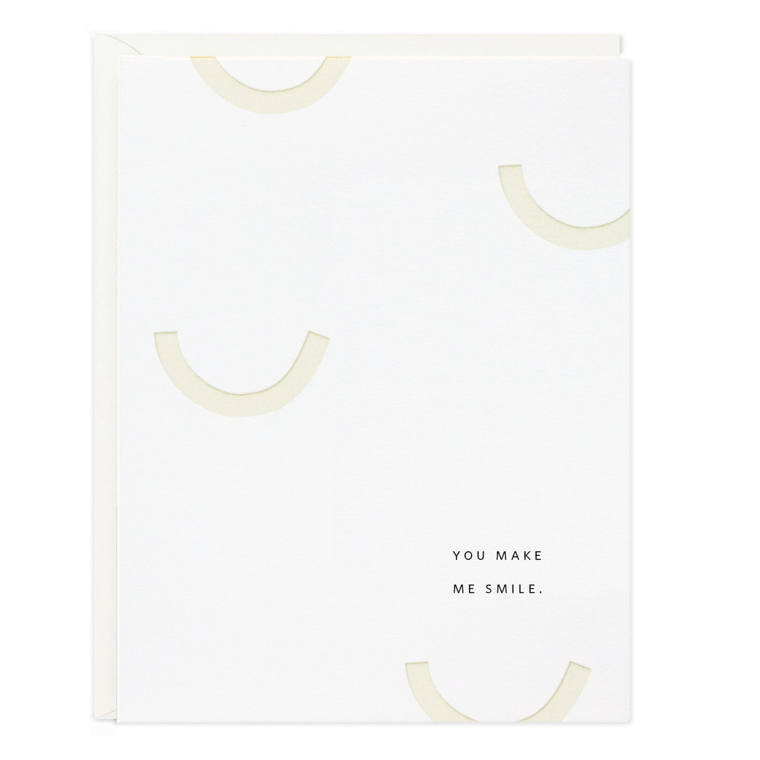 Ramona & Ruth - You Make Me Smile Greeting Card