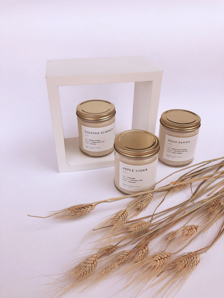 Brooklyn Candle Studio - Palo Santo Minimalist Candle - KINDRED-the boheme collective