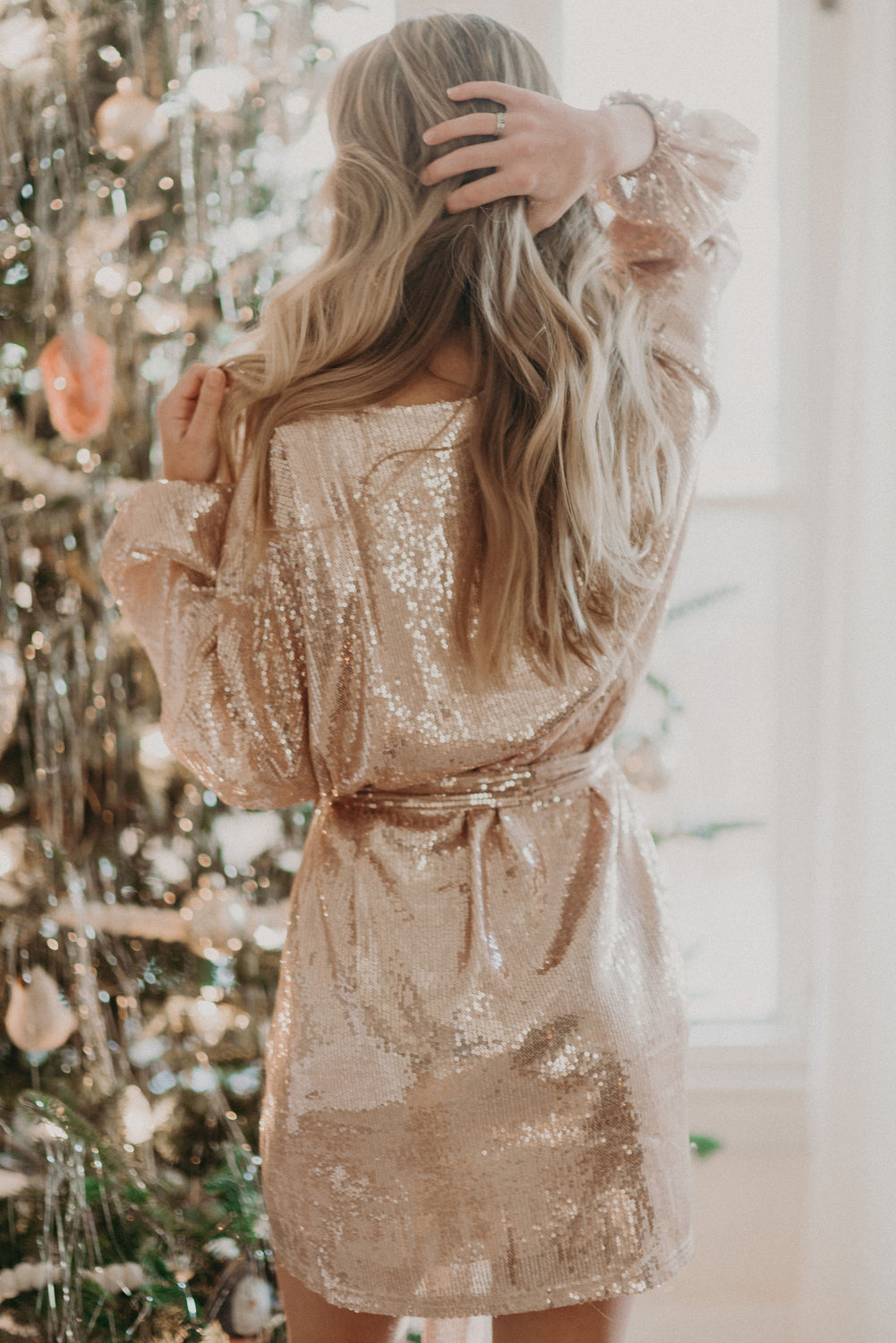 Holiday Spangled Dress