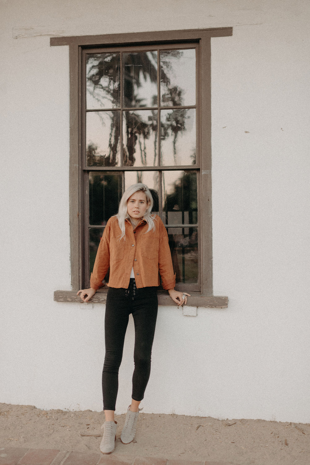 Camel Washed Jacket - KINDRED-the boheme collective