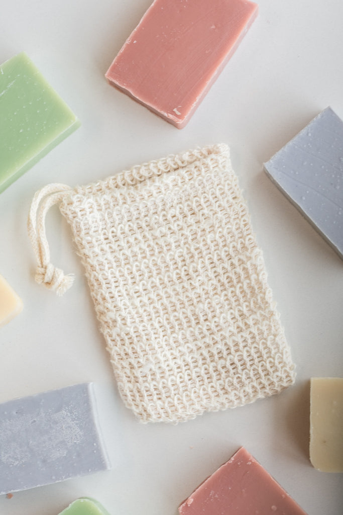 Casa Agave™ Woven Soap Bag - Exfoliating Scrubber