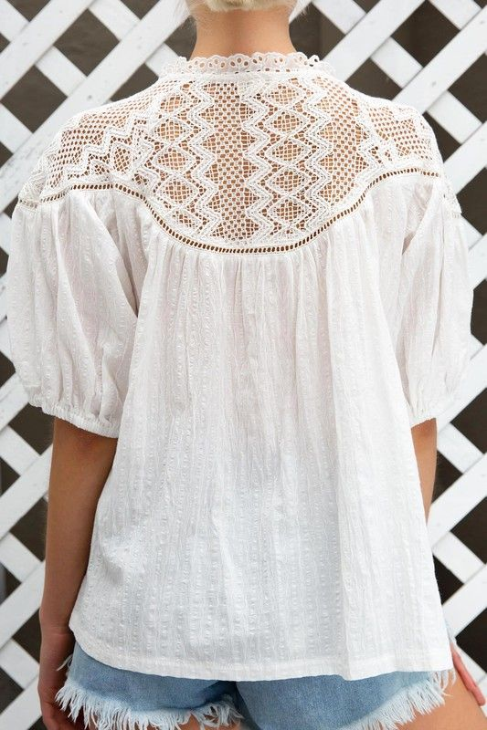 Summer Crochet Shirt - KINDRED-the boheme collective
