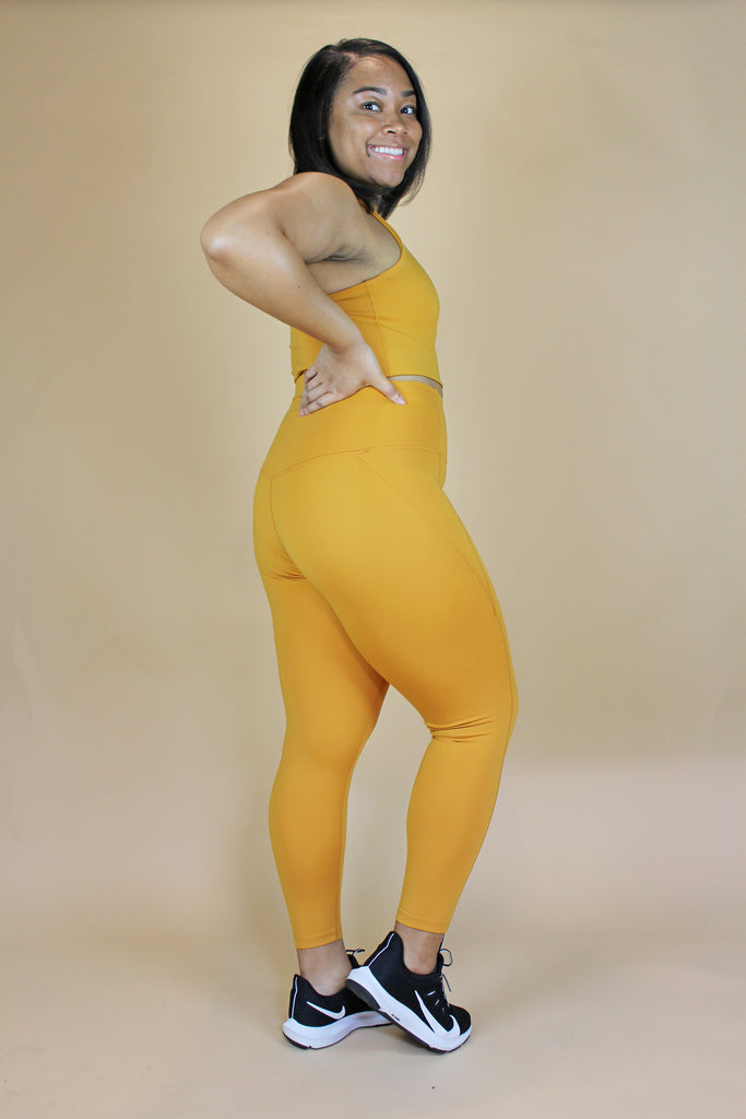 Honey High Rise Compressive Legging - KINDRED-the boheme collective