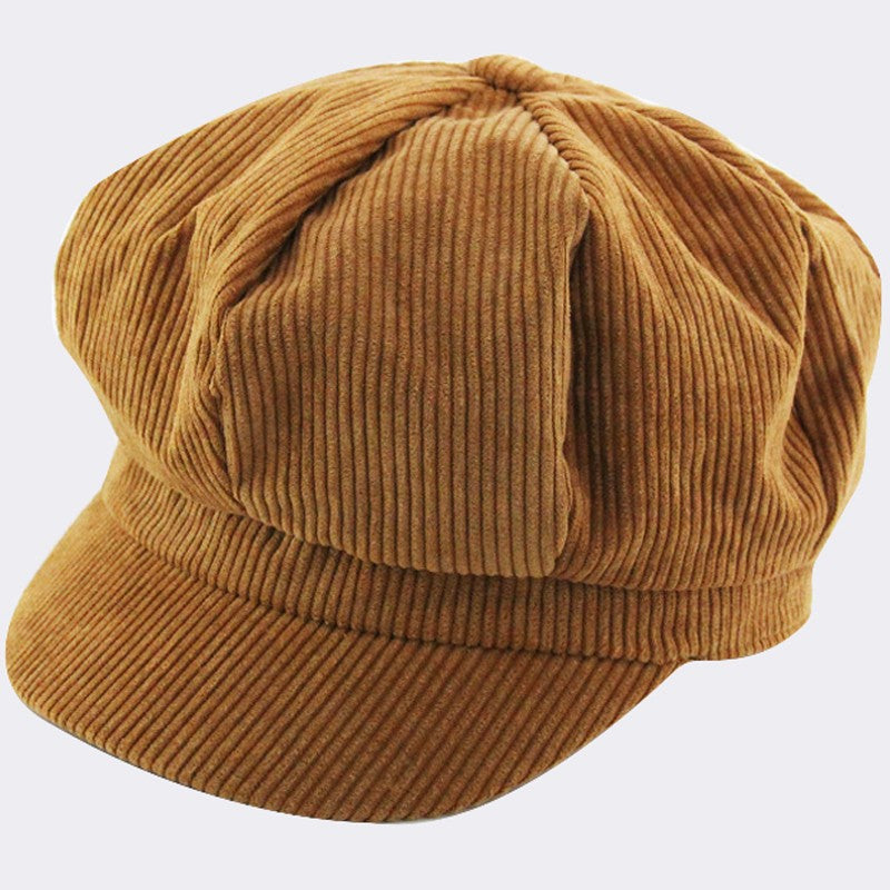 Corduroy Newsboy Hat - KINDRED-the boheme collective
