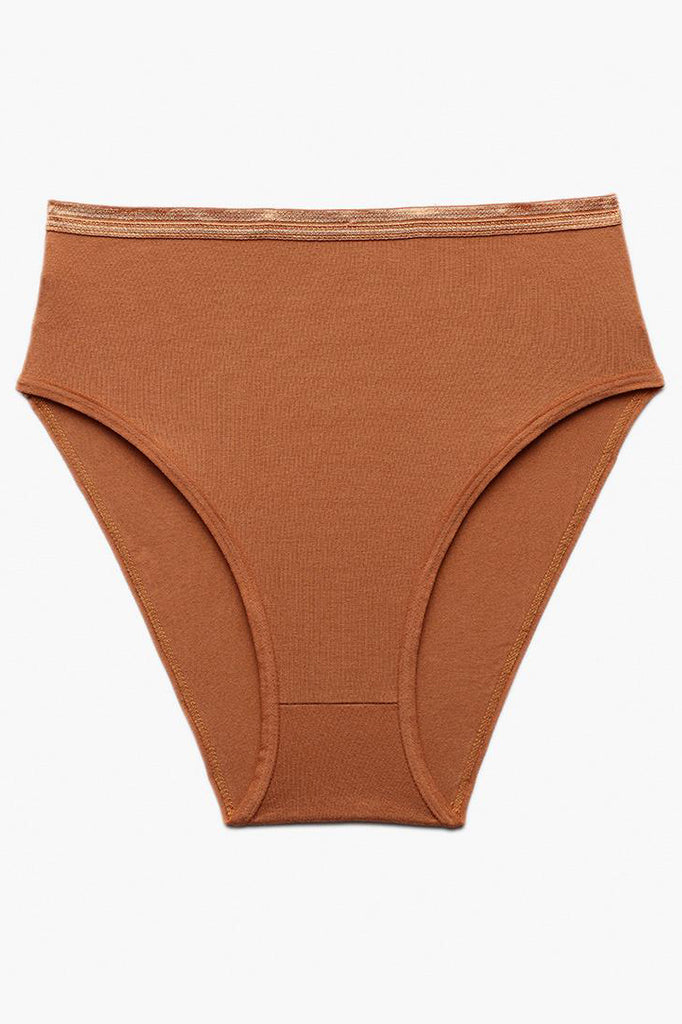 Knickey High Rise Brief - Butterscotch