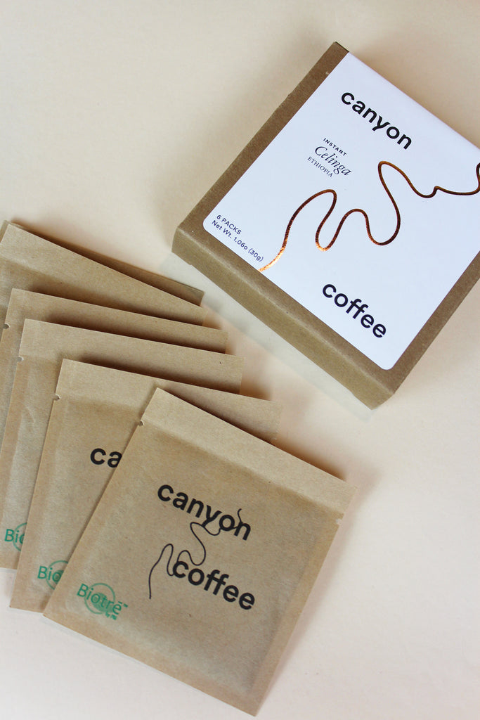 Canyon Coffee - Canyon Instant Coffee - KINDRED-the boheme collective