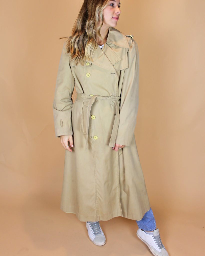 Vintage Rain Coat - KINDRED-the boheme collective