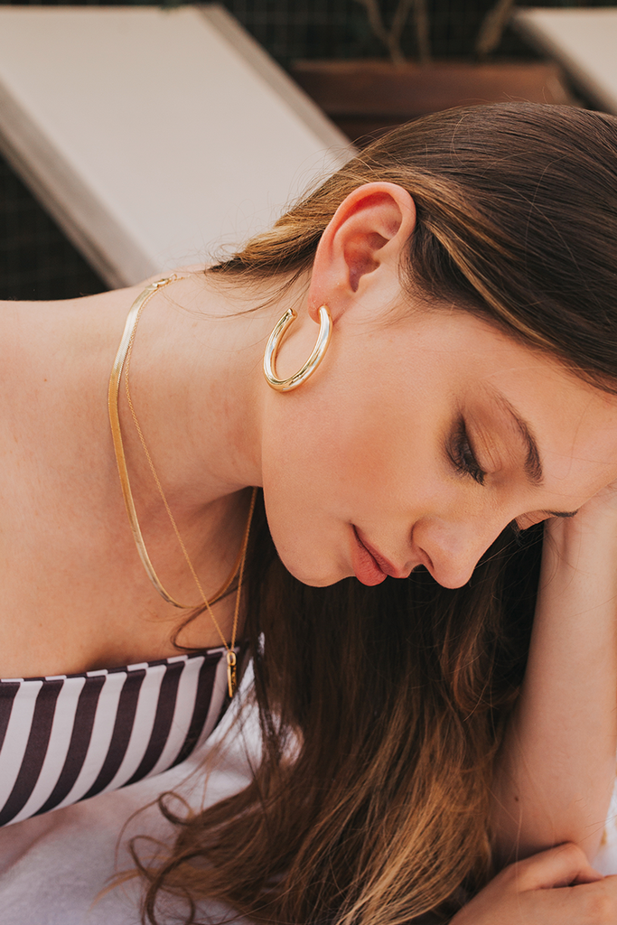 Mod + Jo - Hoop Earrings - Lola Hoops