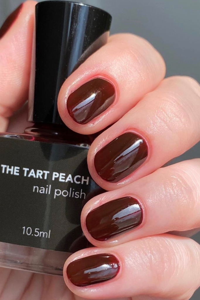 The Tart Peach - Ruby Nail Polish