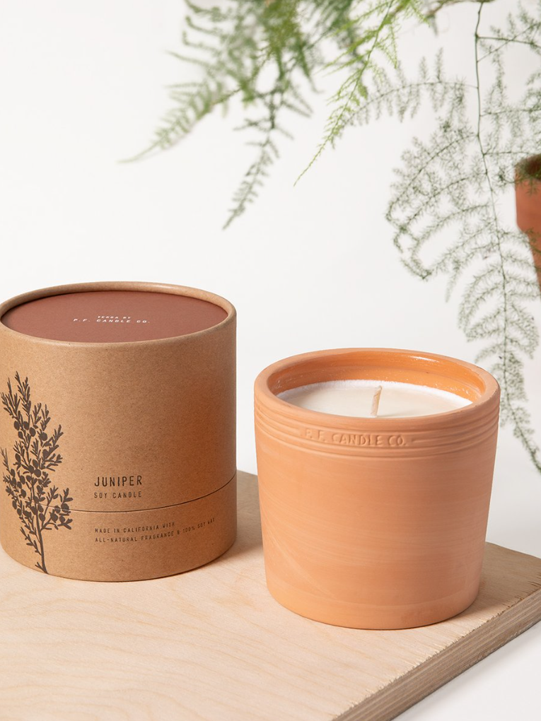 P.F. Candle Co. - Terra No. 2 - Juniper - KINDRED-the boheme collective