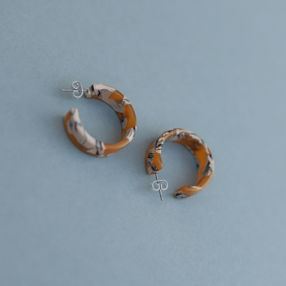 NAT + NOOR - Daisy Hoops - KINDRED-the boheme collective