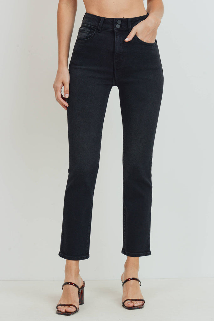 Double Button Denim Jean - KINDRED-the boheme collective