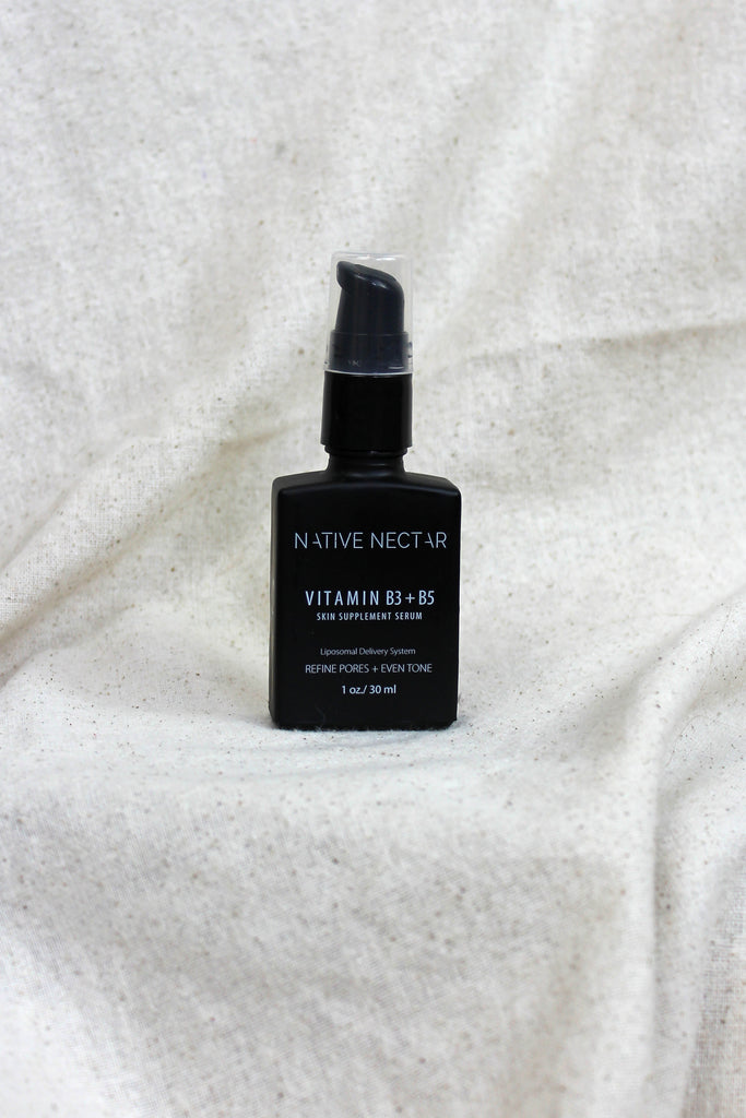 Native Nectar Botanicals - Vitamin B3 + B5 Skin Supplement Serum - KINDRED-the boheme collective