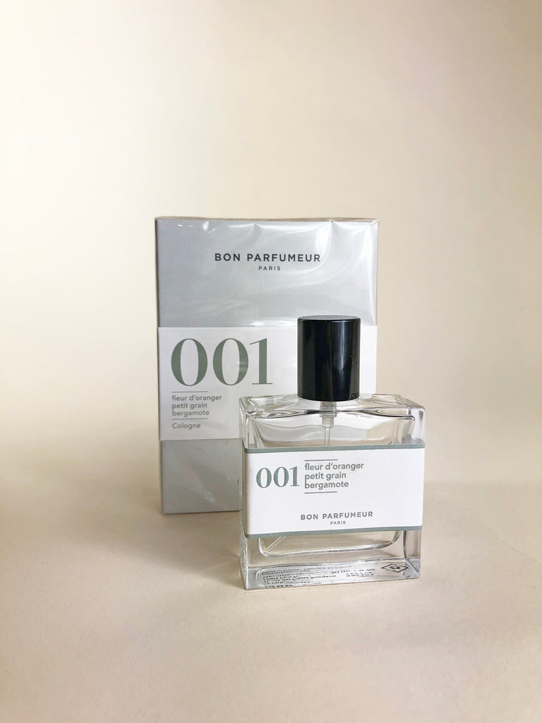Bon Parfumeur - 001 - orange blossom bergamot petit grain - KINDRED-the boheme collective