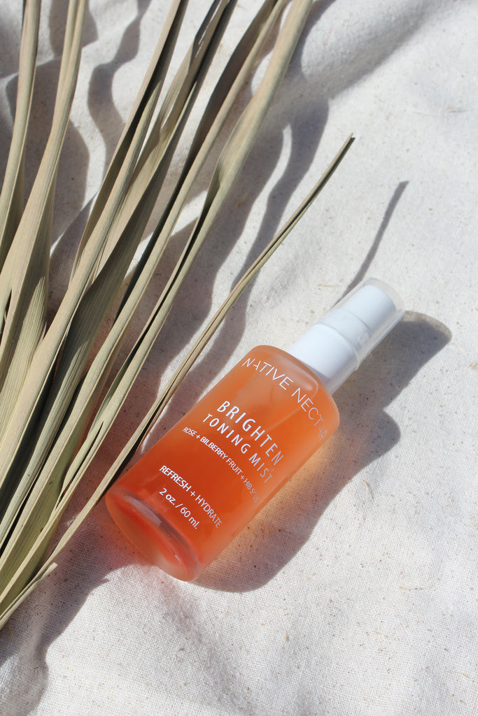 Native Nectar Brighten Toning Mist