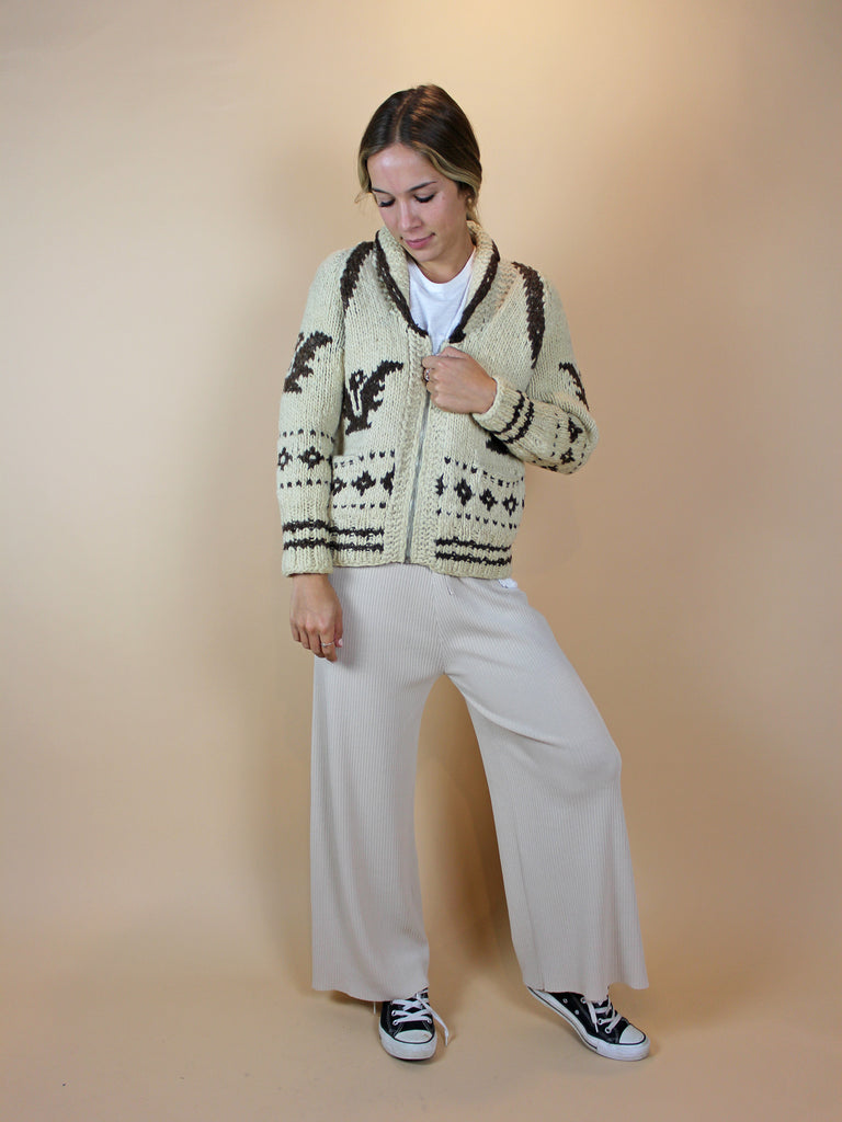 Vintage Indian Village Sweater - KINDRED-the boheme collective