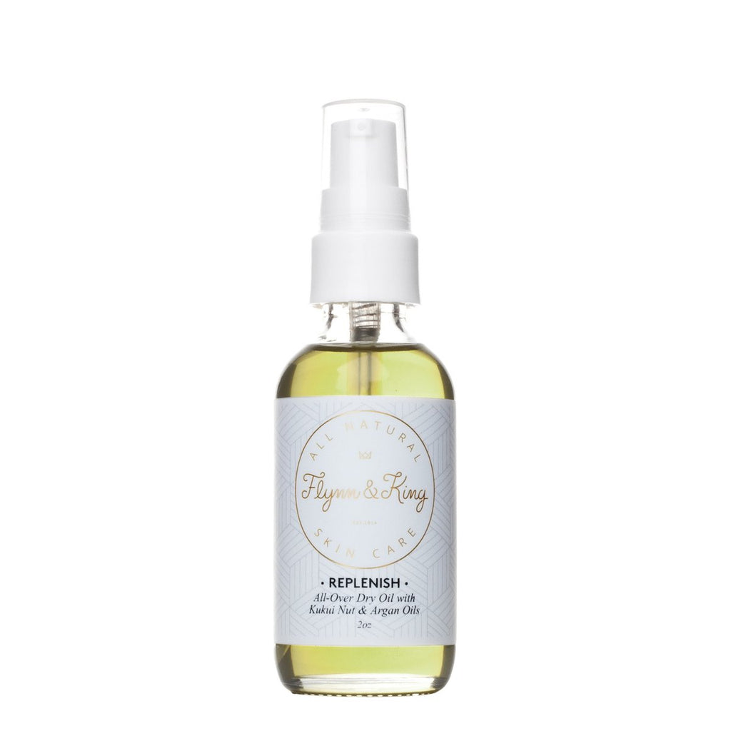 Flynn and King - REPLENISH All- Over Dry Oil with Kukui Nut and Argan Oil 2oz - KINDRED-the boheme collective