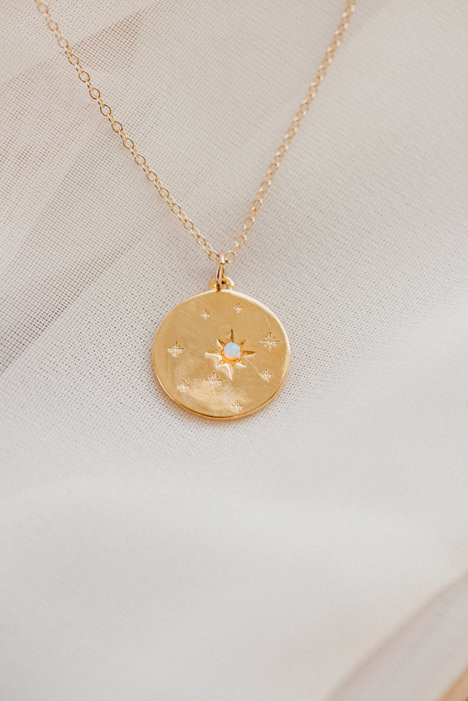 BORCIK JEWELRY - Starry Night Opal Necklace - KINDRED-the boheme collective