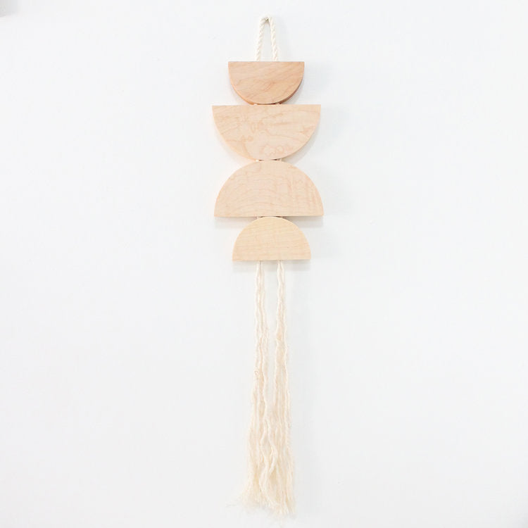 Mingled Goods - Maple & Rope Dune Hanging - KINDRED-the boheme collective