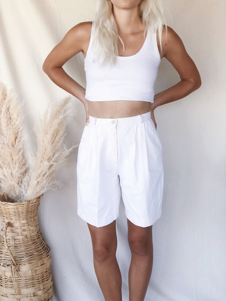Vintage High Waist Shorts - KINDRED-the boheme collective