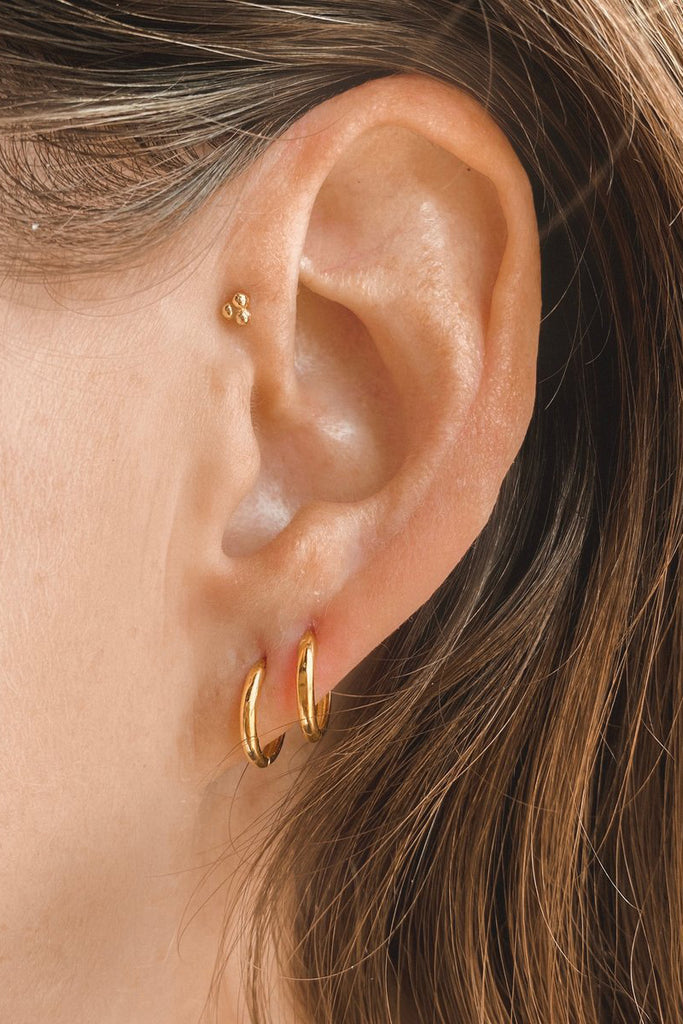 Mod + Jo - Gold Vermeil Stacking Hoops
