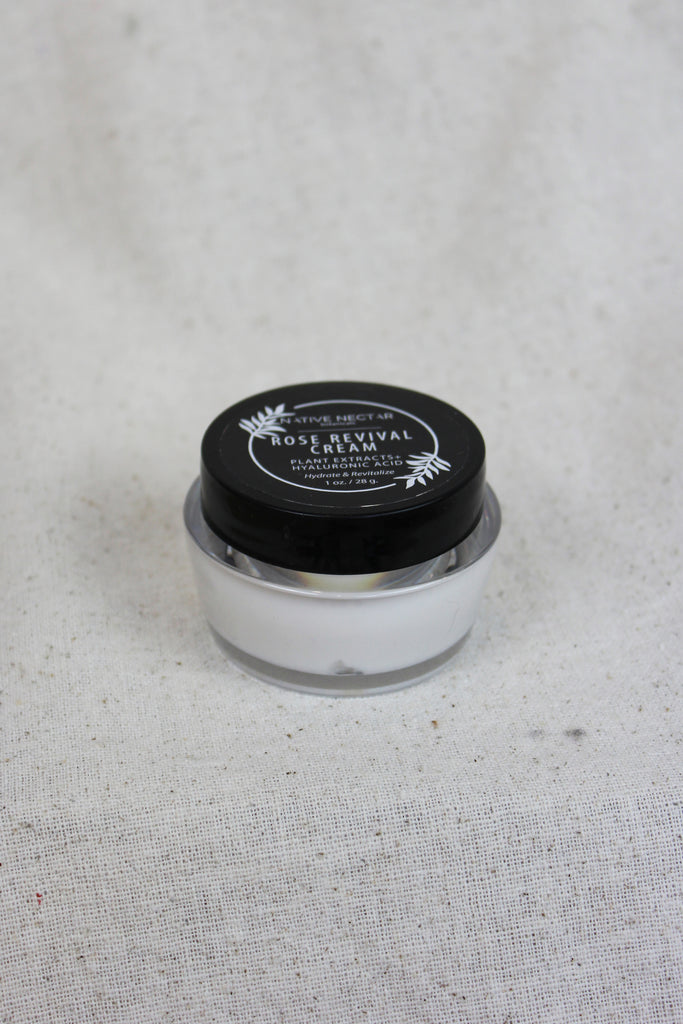 Native Nectar Botanicals - Rose Revival Cream 28g - KINDRED-the boheme collective