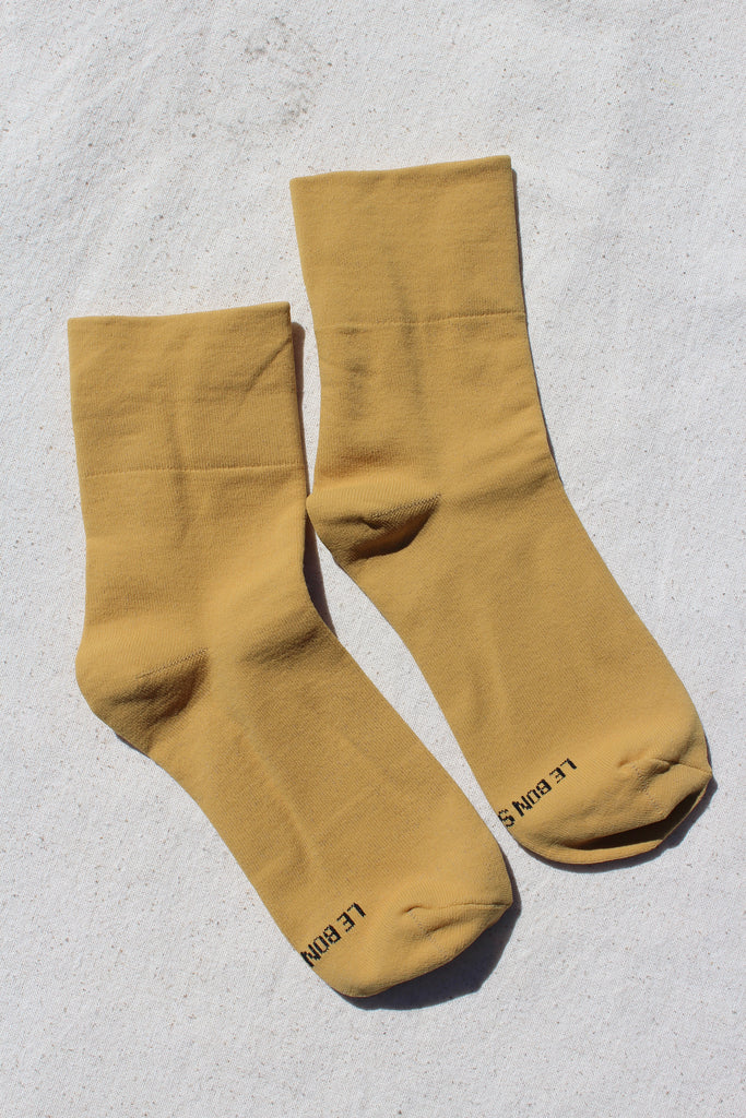 Le Bon Shoppe - Pump Socks - Saffron
