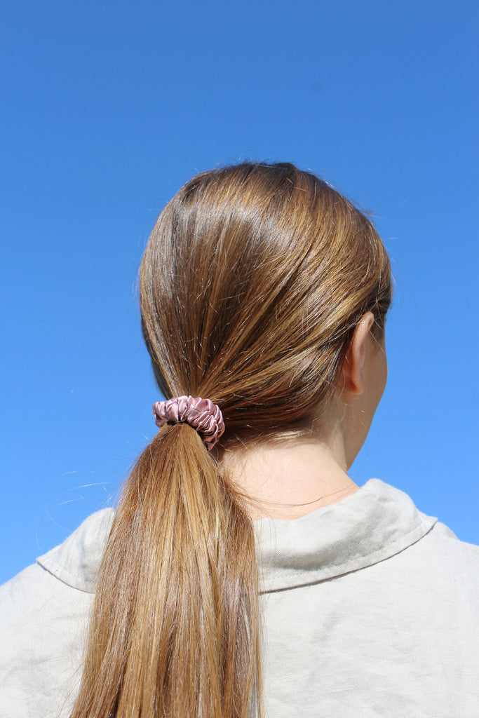 100% Natural Silk Scrunchie - Silkki