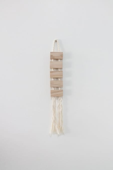 Mingled Goods - Maple & Rope Small Blok Hanging