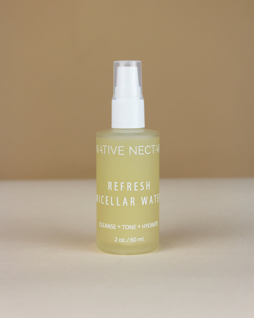 Native Nectar Refresh Micellar Cleansing Water