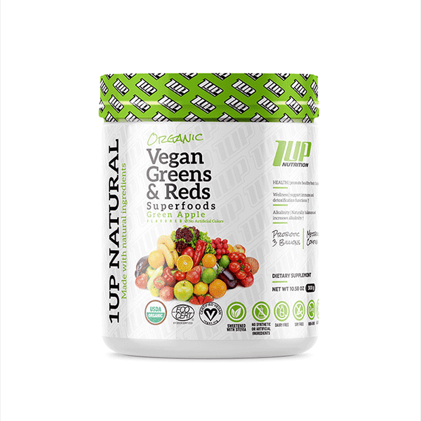 Organic Vegan Greens & Reds Superfoods