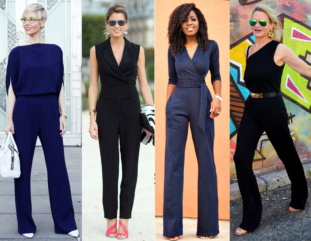 tailored jumpsuits are a must for date night | bombelle blog