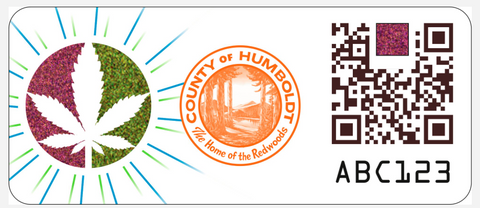 SICPA Humboldt Proof of Origin Stamp