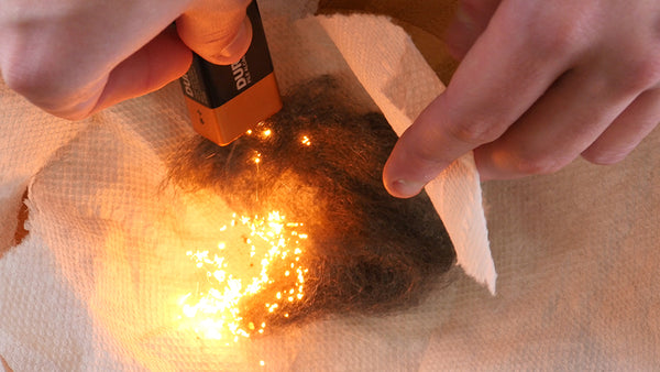 3 Clever Hacks to Start a Fire Using a Battery - Go Time Gear
