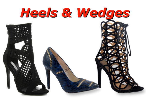 Womens Heels, Pumps & Wedges