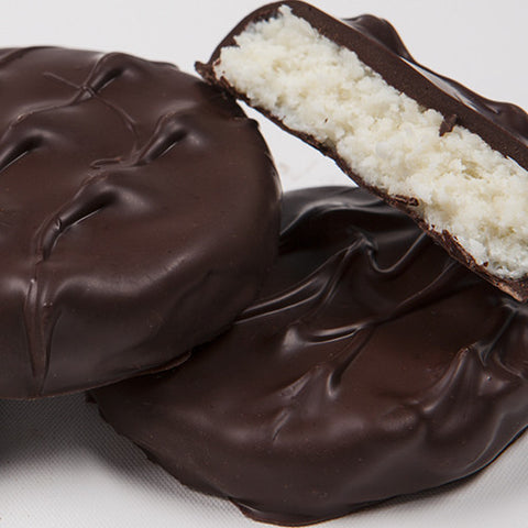 Hand-Dipped Coconut or Mint Patties