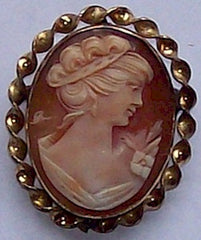 Finished Cameo Jewelry