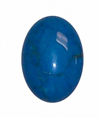 Dyed Howlite Turquoise 25x18mm cabochon 326x