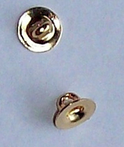 6mm Gold Button Shank Finding Item#437x