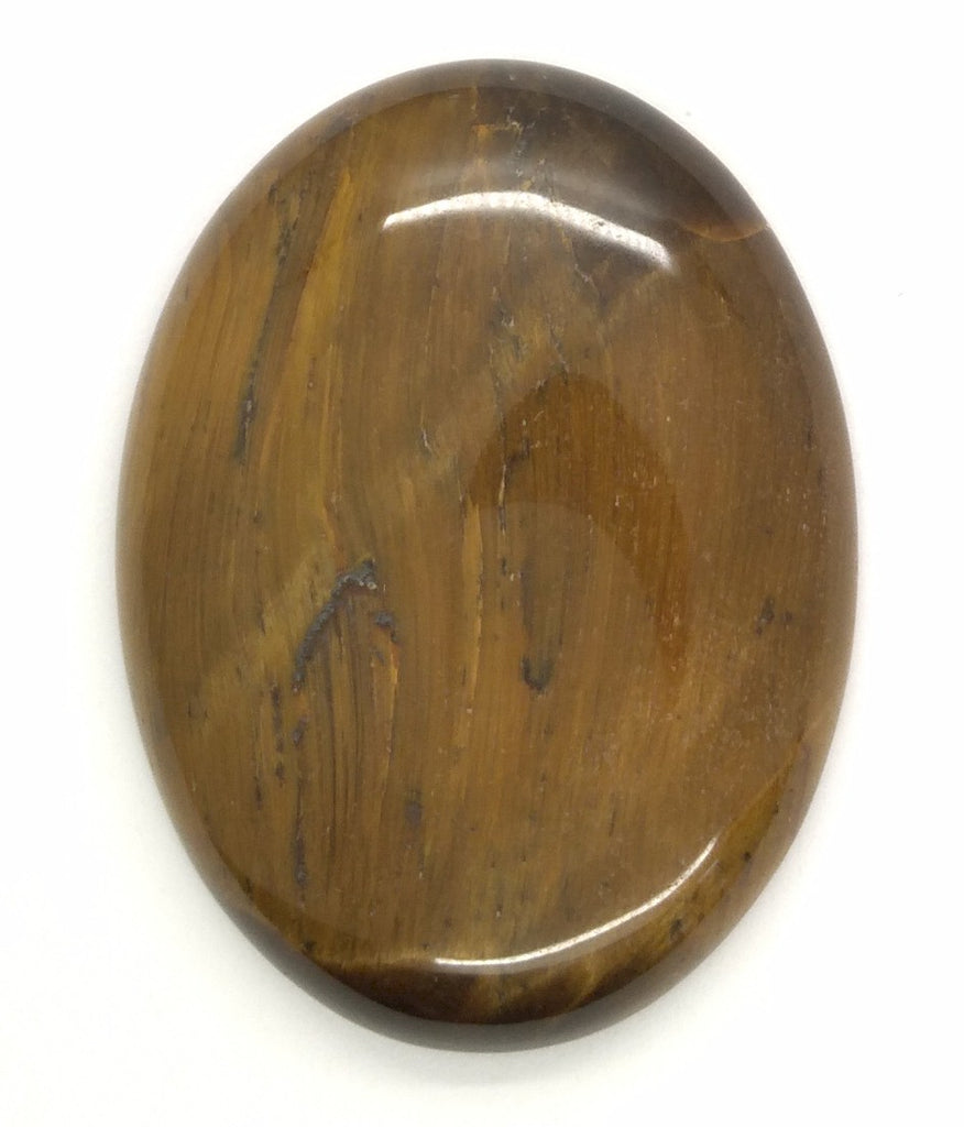 40x30mm Flat Backed Tiger Eye Oval Stone Cabochon 652xF