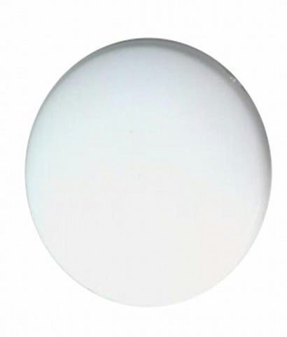 35mm white Flat Backed Plastic Cabochon 804q